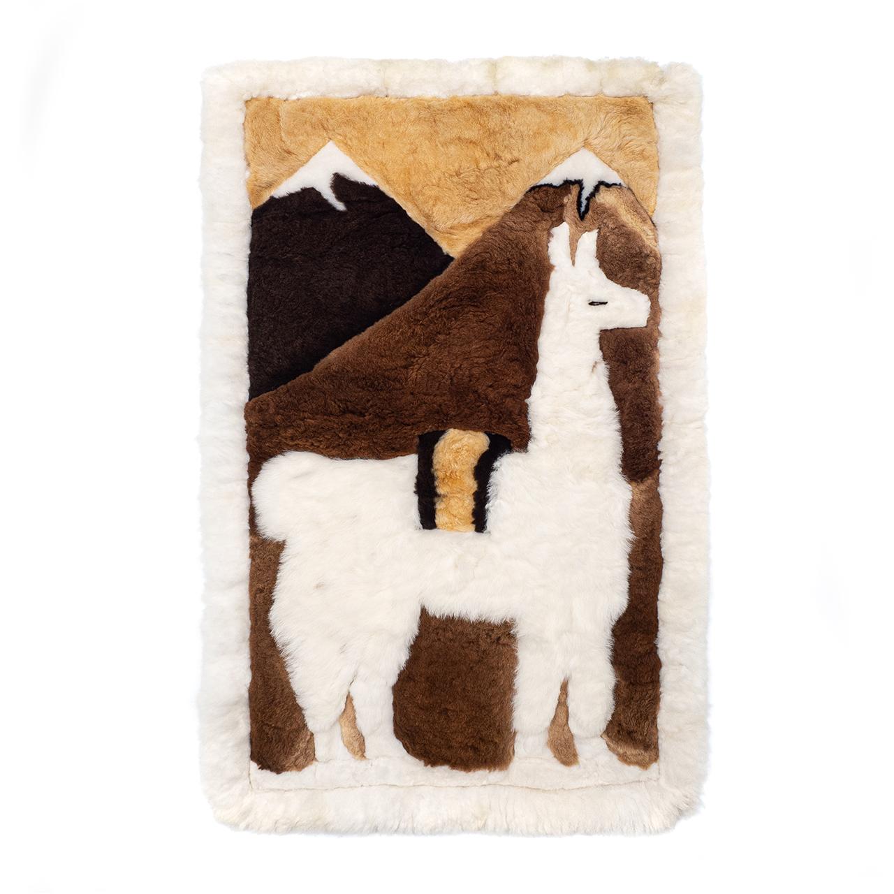снимка на Кожен килим от алпака