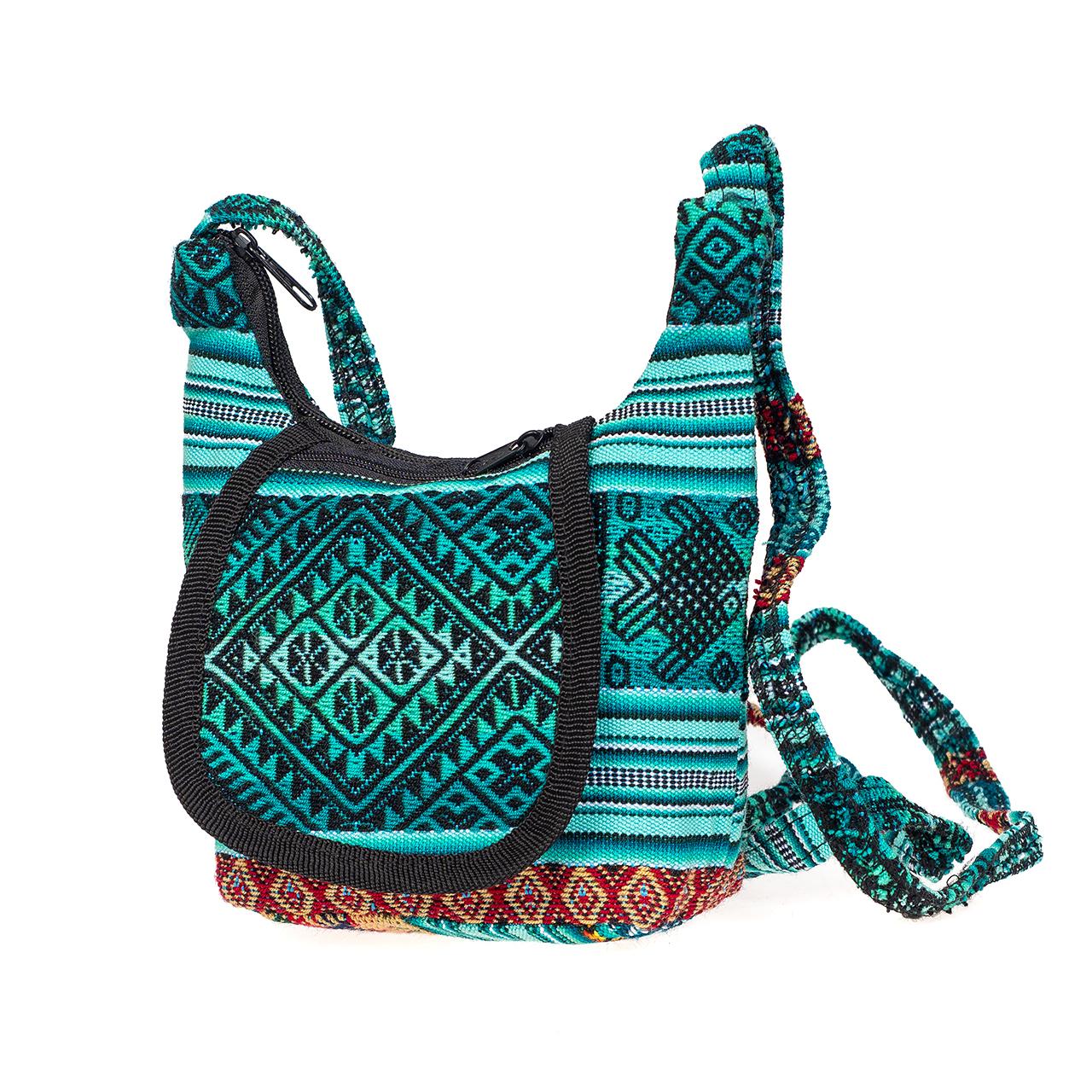 Дамска чанта малка зелена