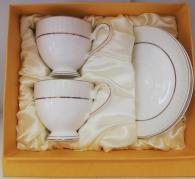 Чаши костен порцелан за кафе и чай