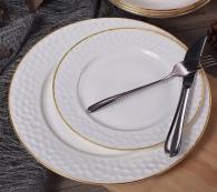 снимка на Чинии за хранене костен порцелан