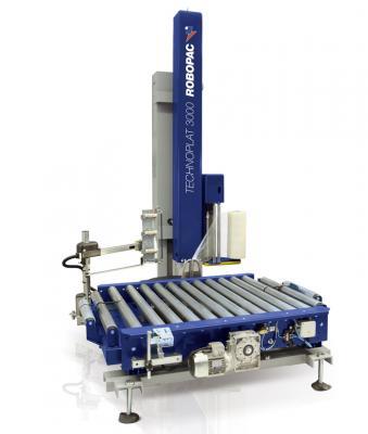 снимка на Автоматична машина за опаковане със стреч фолио  TECHNOPLAT