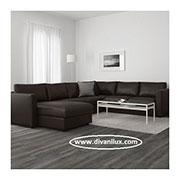 снимка на Пеобразен диван с мемори пяна