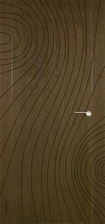 снимка на фрезовани интериoрни врати фурнирован МДФ по проект