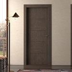 снимка на фрезовани интериорни врати фурнир по проект