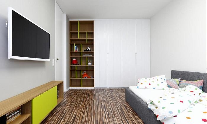 снимка на Юношеска стая с интериор съвременен стил