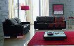 снимка на яки цветни дивани