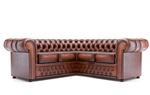 снимка на яки кожени дивани честърфийлд
