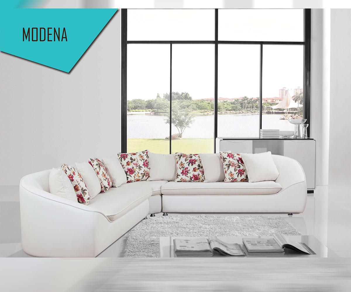 Луксозен разтегателен диван Модена