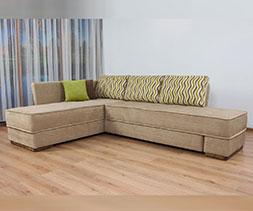 Ъглов диван с въртящ механизъм Емоция