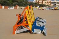 снимка на Прикачна машина за почистване на плаж Манта
