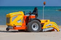 снимка на Самоходна машина за почистване на плаж Скуало