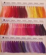 снимка на Цветови каталог  шевни конци