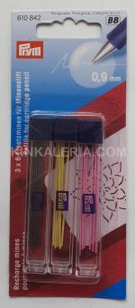 снимка на Цветен пълнител креда за молив