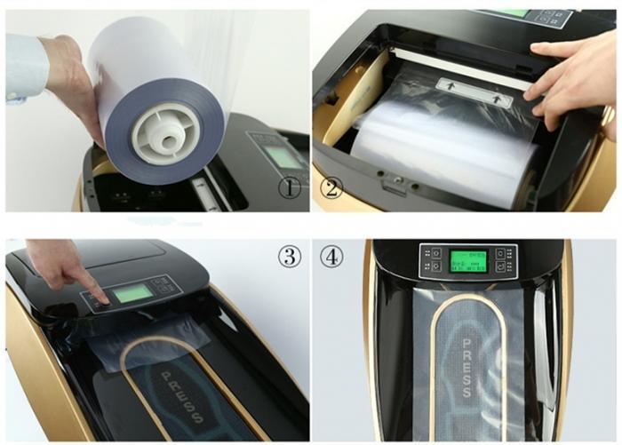 Машина за обуване на калцуни автоматична