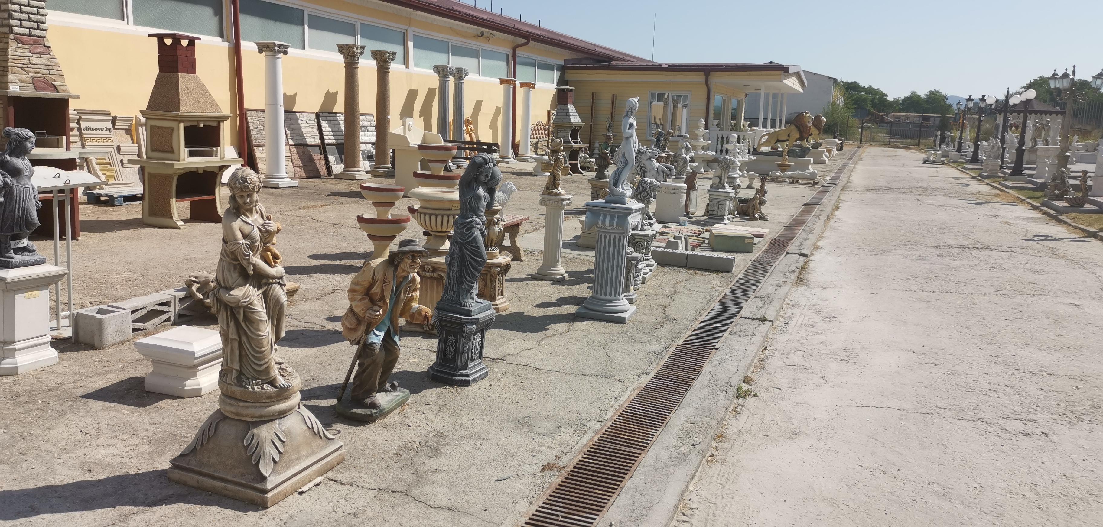 снимка на Фигури от бетон