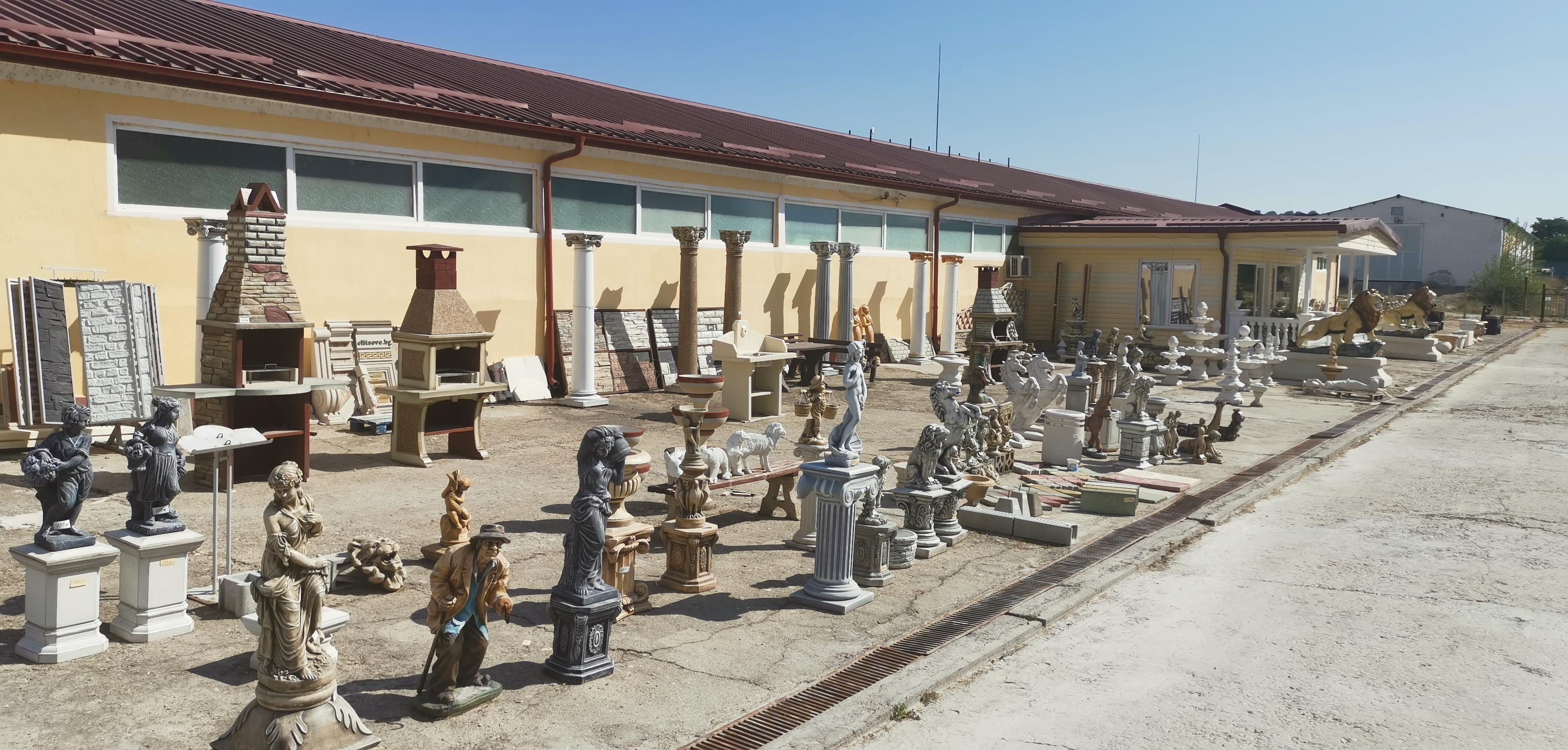 снимка на Бетонови статуй