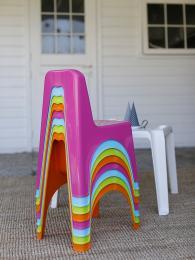 снимка на Стабилно детско столче за занимални и градини
