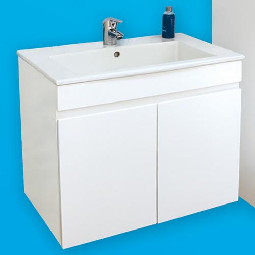 Мебел за баня – долен шкаф Линеа с врати (различни размери)