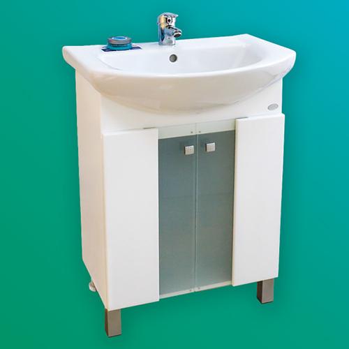 Мебел за баня – долен шкаф Либра 2 с врати