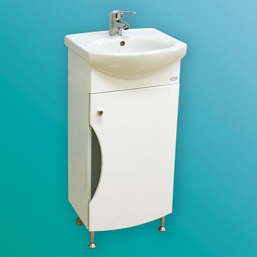 Мебел за баня – долен шкаф Панда с врата