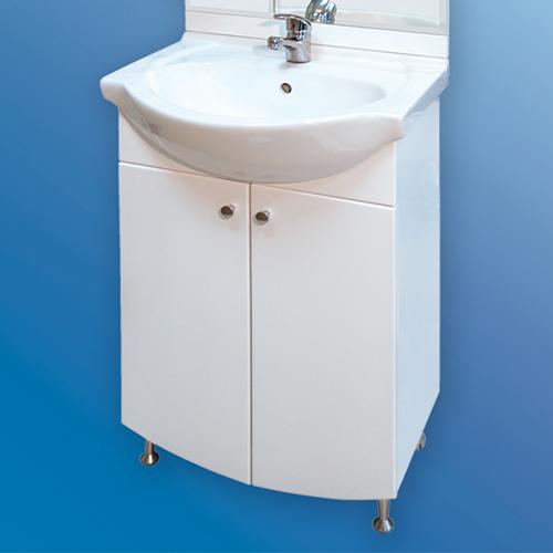 снимка на Мебел за баня – долен шкаф Орион с врати