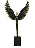 снимка на Икар бронзова статуетка