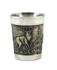 снимка на Метална чашка с ловни мотиви