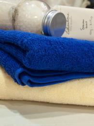 снимка на Хавлиена кърпа за лице  синьо //