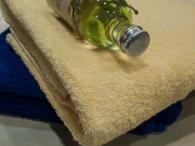 снимка на Хавлиена кърпа за тяло  жълта //